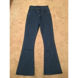 SHEIN BRAND NEW NEVER WORN High Waist Flare Jeans